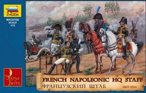Byggmodell - French Headquarter, Napoleonic Wars - 1:72 - Zvezda