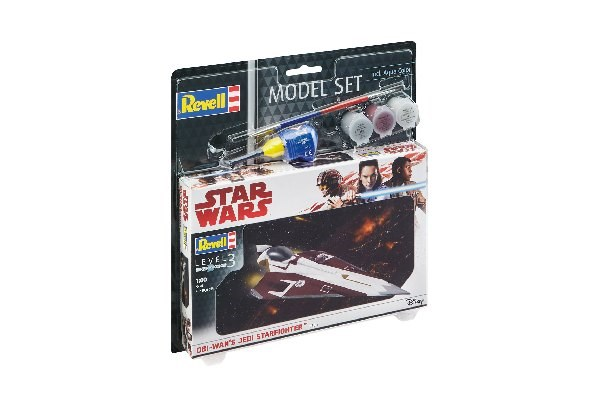 Star Wars - Model Set Jedi Starfighter - 1:80 - Revell