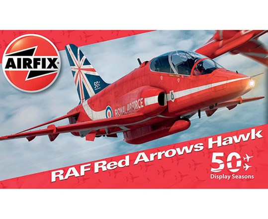 Byggmodell - Red Arrows Hawk 50th Season - 1:72