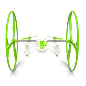 RC drone - 4 in 1 UFO 6 axis 4 ch - Green - 2,4Ghz - RTF