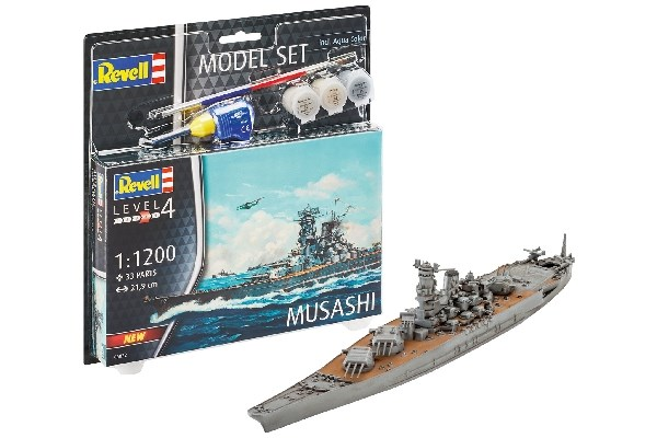 Model Set Musashi - 1:1200 - Revell