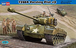 Byggmodell stridsvagn - T26E4 Pershing, Pilot #2 - 1:35 - HB