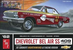 Byggmodell bil - 1962 Chevy Bel Air Super St - 1:25 - Amt