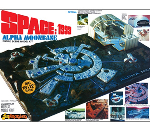 Byggmodell - Space 1999: Moon Base Alpha - 1:3200 - Mpc