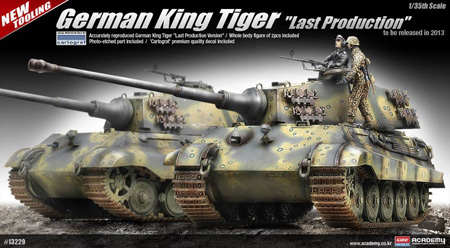 Byggsats Stridsvagn - King Tiger Last production - 1:35 - Academy