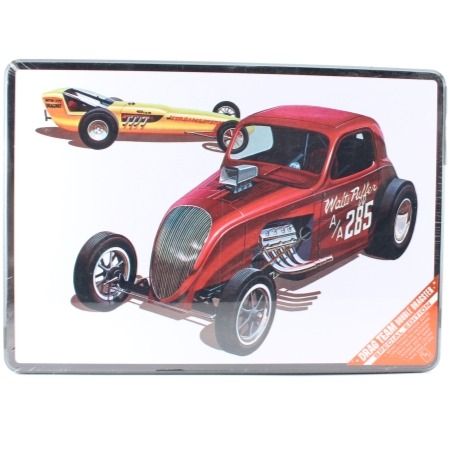 Byggmodell bil - DOUBLE DRAGSTER Collectors Tin - 1:25 - AMT