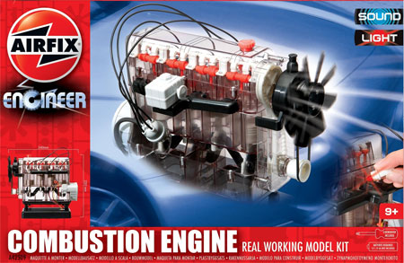 Byggsats - Internal Combustion Engine - 1:72