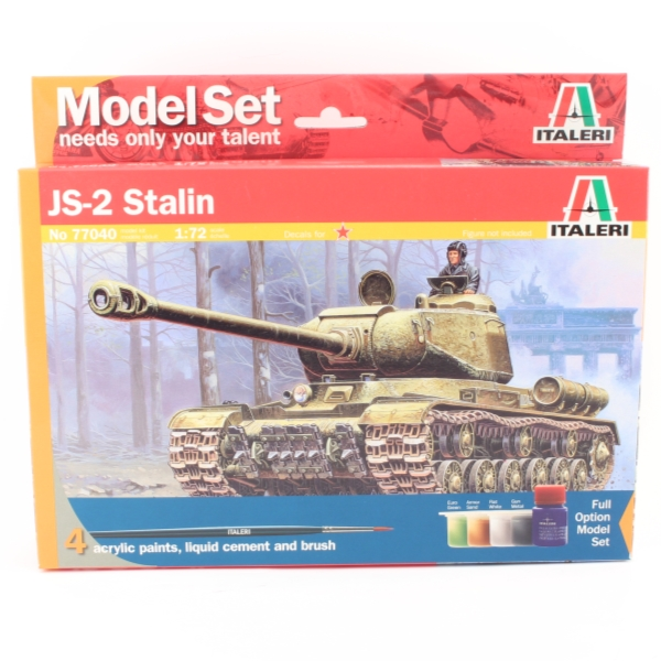 Byggsats Stridsvagn - JS-2 STALIN - Model set - 1:72 - Italeri