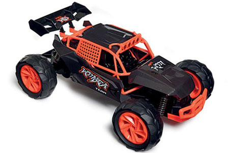 Radiostyrd bil - 1:14 - Kx7 Speed Truck - 2,4Ghz - Orange - RTR