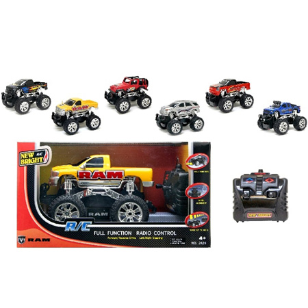 Radiostyrda bilar - 1:24 - New Bright RC Trucks - RTR