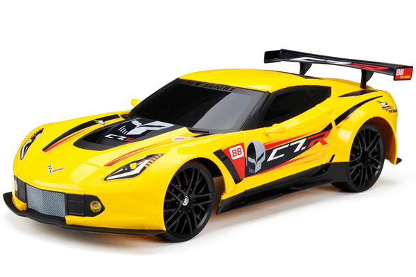 Radiostyrd Bil - 1:12 - RC Chargers Corvette - 2,4Ghz - RTR