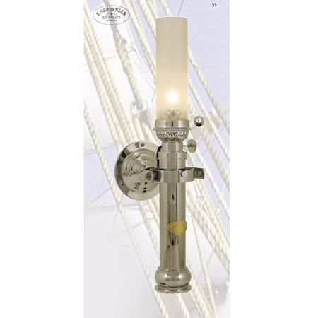 Ships lamp - chrome, Elmonterad, 520202